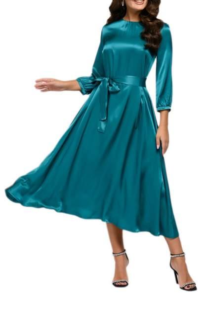 Вечернее платье женское D&M by 1001DRESS 0112001-01978TR зеленое XS