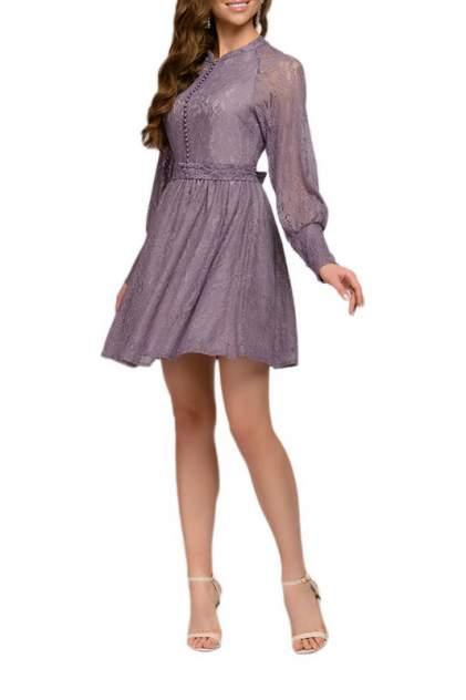Вечернее платье женское D&M by 1001DRESS 0112001-30041VL фиолетовое M