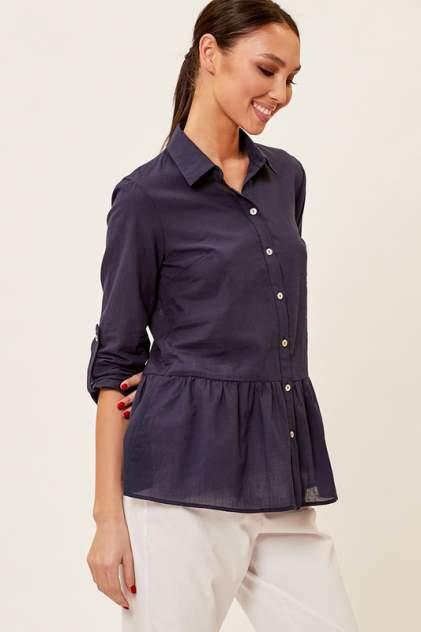Блуза женская Vittoria Vicci 2002-03-6522 синяя 48