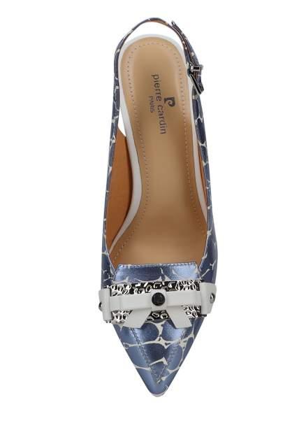Туфли женские Pierre Cardin 27306850 голубые 35 RU