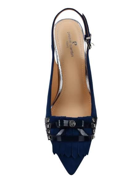 Туфли женские Pierre Cardin 27306860 синие 40 RU