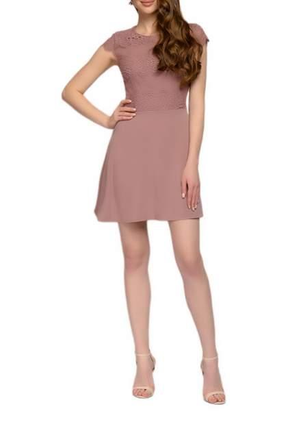 Вечернее платье женское D&M by 1001DRESS DM01944SP розовое XS