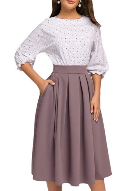 Платье женское D&M by 1001DRESS DM00234MW бежевое XL