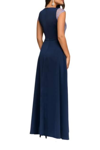 Вечернее платье женское D&M by 1001DRESS DM00952DL синее XS