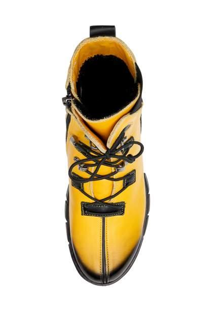 Ботинки женские Pierre Cardin W7127001 желтые 37 RU