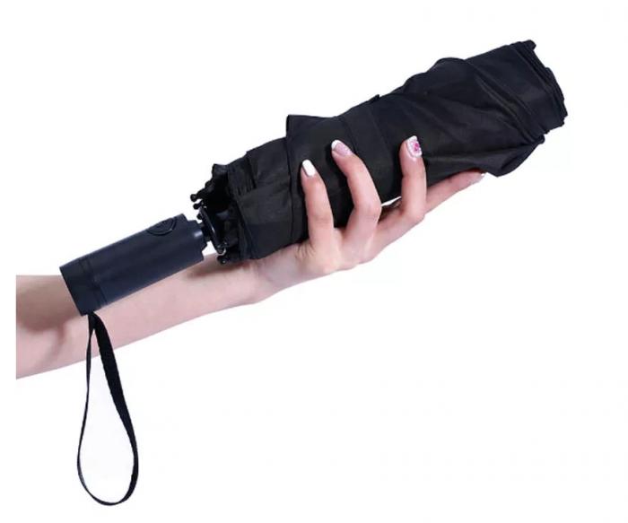 Зонт складной унисекс автоматический Xiaomi WD1 черный