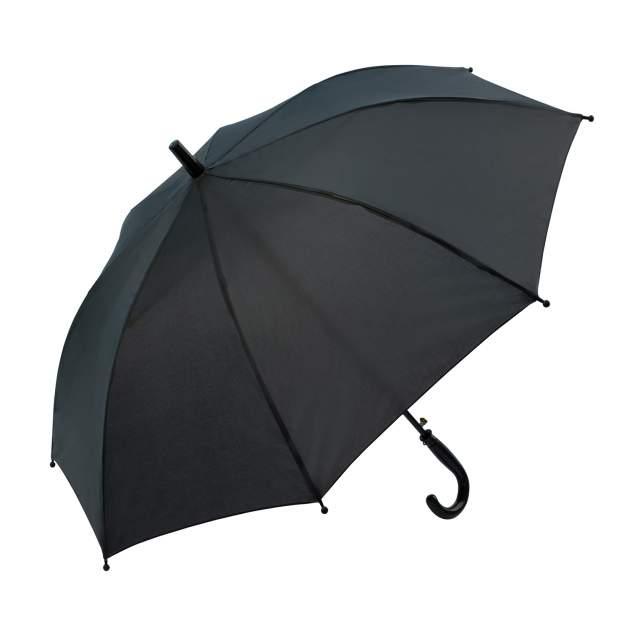 Зонт детский Diniya для мальчиков и девочек однотонный Черный