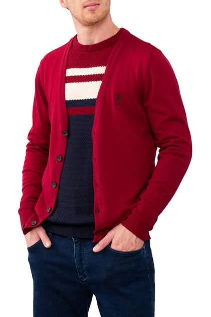 Кардиган мужской U.S. POLO Assn. G081SZ0TH0HENRICO красный M