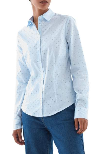 Блуза женская ZARINA 328102302 голубая 48