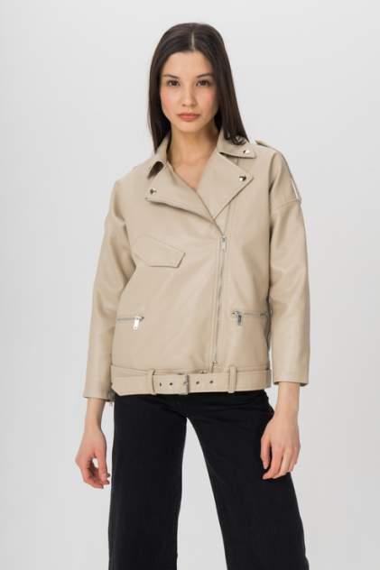 Кожаная куртка мужская ELARDIS El_W60950 бежевая 48 RU