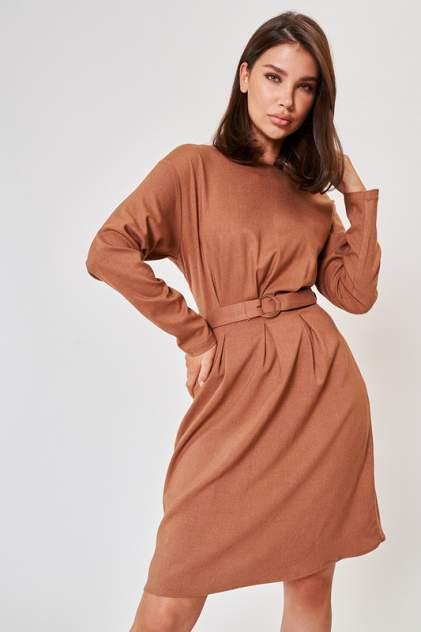 Повседневное платье женское Vittoria Vicci 1-20-2-3-02-52253 коричневое XS