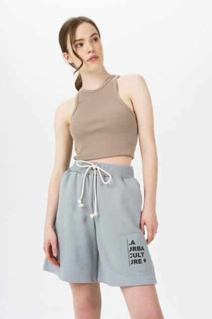 Повседневные шорты женские LA URBA PERSON GR-074 серые 44-46 RU