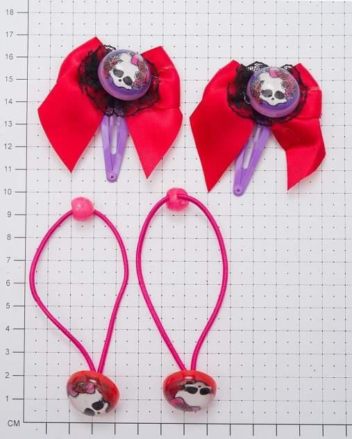 Набор аксессуаров для волос монстр хай череп 4 предмета Daisy Design 51567 в ассортименте