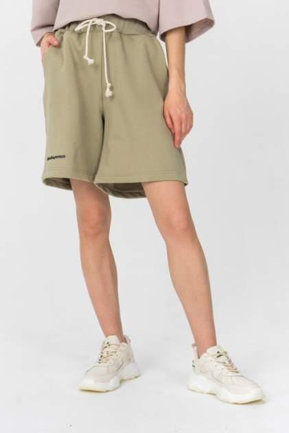 Повседневные шорты женские LA URBA PERSON ND-008 зеленые 42-44 RU