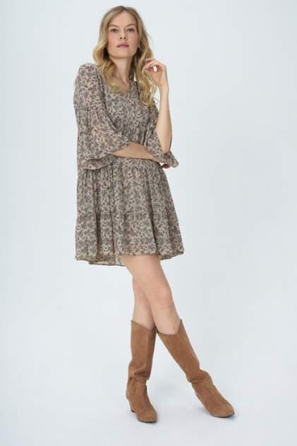Женское платье SILVION Sl_W1281, бежевый