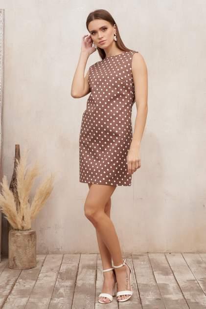 Платье женское Vittoria Vicci V1.9.02.07-51985 коричневое 48