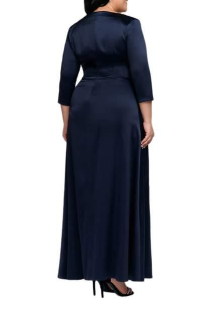 Вечернее платье женское D&M by 1001DRESS 0112001-01955DB синее XS