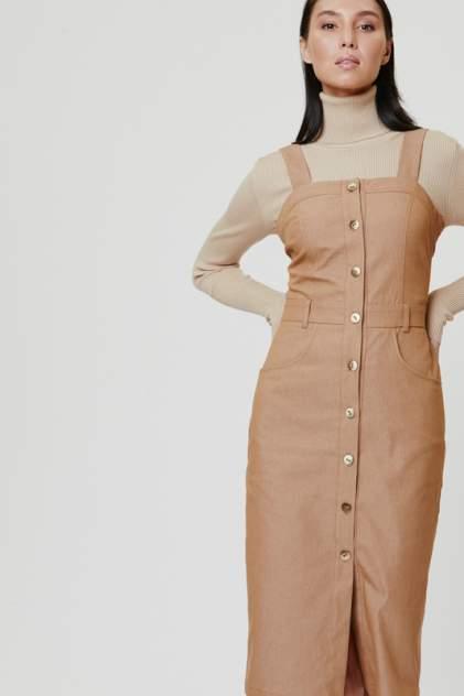 Платье-сарафан женское Vittoria Vicci 1-20-2-1-02-52248 бежевое M