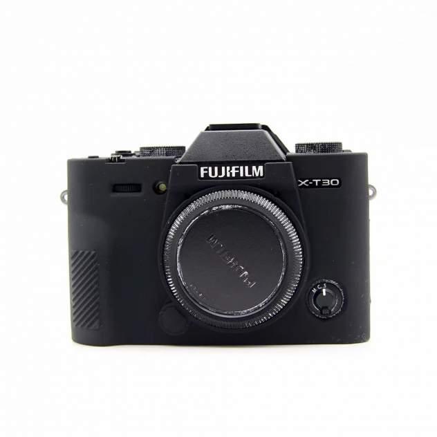 Силиконовый чехол MyPads для фотоаппарата Fujifilm X-T30/ XT30 черный