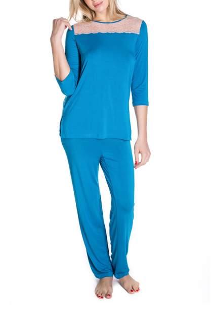Брюки женские ROSE&PETAL HOMEWEAR RP50-7139 синие XL