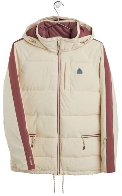Куртка Сноубордическая Burton 2020-21 Keelan Creme Brulee/Rose Brown (Us:m)