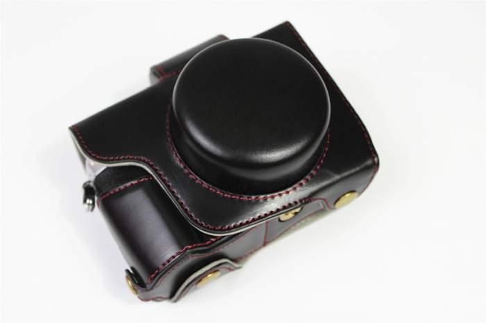 Сумка-кожух-футляр MyPads для фотоаппарата Olympus OM-D E-M10 Mark IV черная