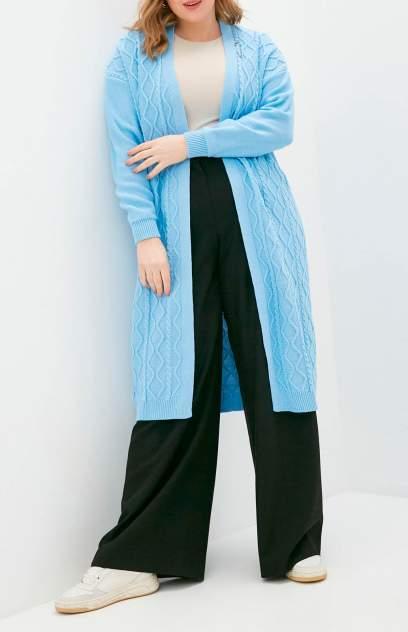 Кардиган женский MILANIKA 1403 голубой 48 RU