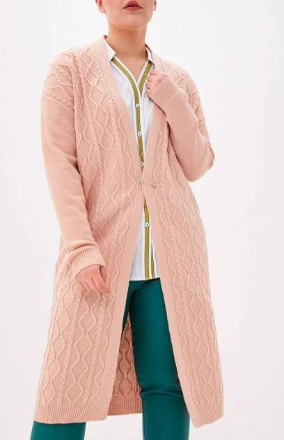 Кардиган женский MILANIKA 1403 розовый 48 RU