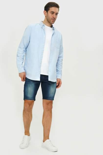 Джинсовые шорты мужские Tom Farr T M6125.37 синие 32