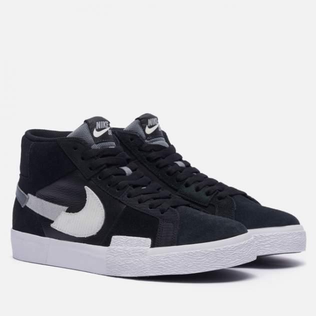 Кроссовки женские Nike SB Zoom Blazer Mid Premium Mosaic, черный