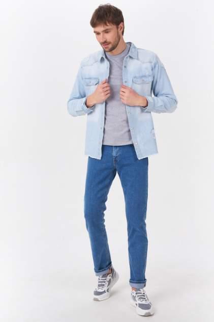Мужская джинсовая куртка Tom Farr T4F M2405.32, голубой