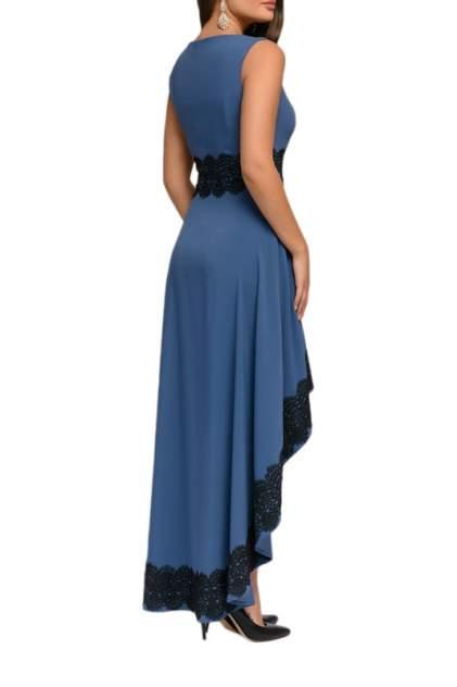 Вечернее платье женское D&M by 1001DRESS DM00951LB синее XS