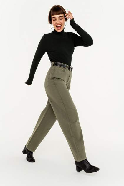 Женские джинсы  befree 2041252734, зеленый