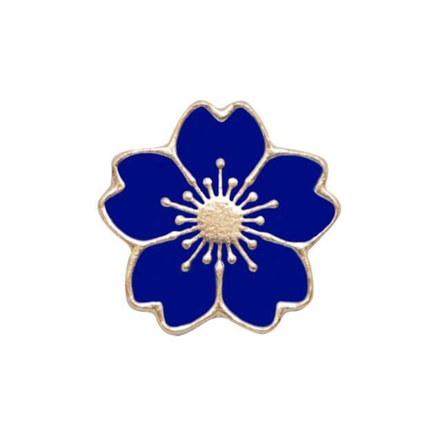 Брошь женская OTOKODESIGN 53177 синяя