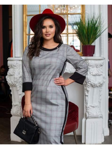 Женское платье Bordo БР 118, серый