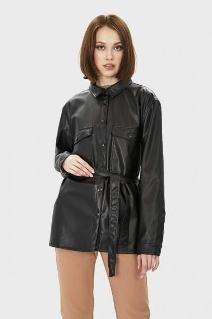 Кожаная куртка женская Baon B101032 черная M