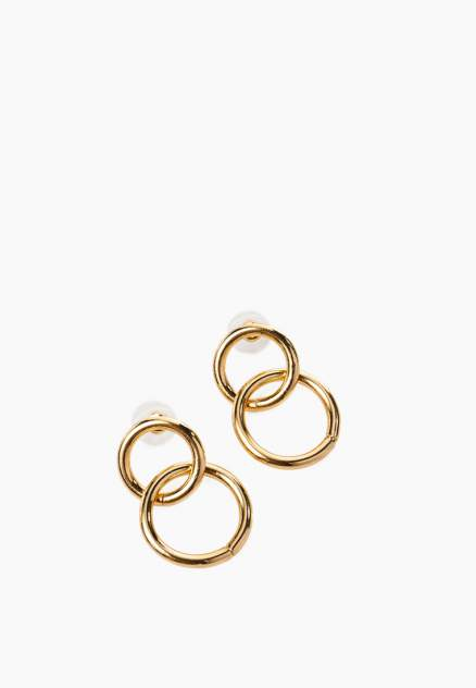 Серьги женские Modis M201A01018O251ONE золотистые