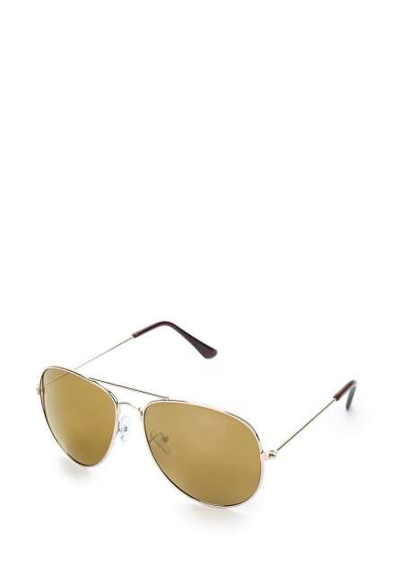 Солнцезащитные очки женские Modis M181A00468V011ONE золотистые