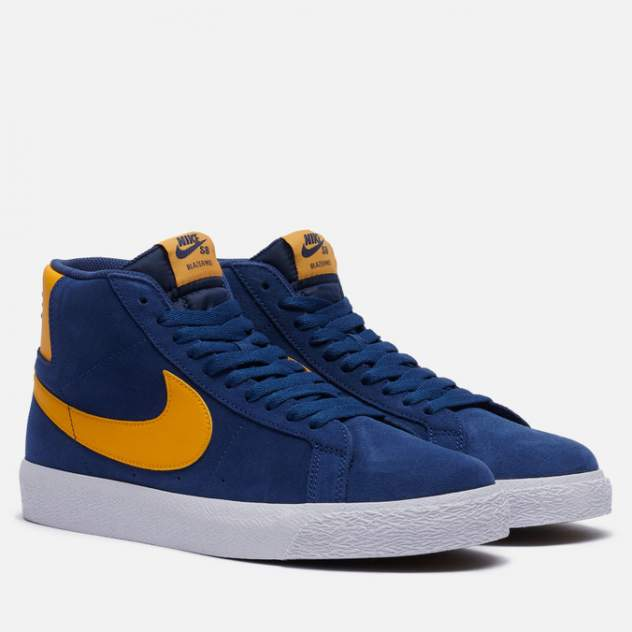 Кроссовки мужские Nike SB Zoom Blazer Mid Michigan, синий