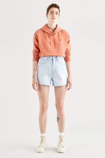 Джинсовые шорты женские Levi's 39451-0001 голубые 29