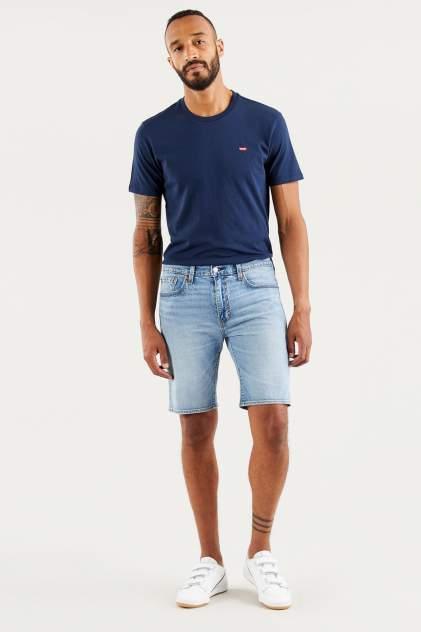 Джинсовые шорты мужские Levi's 39864-0036 голубые 3310