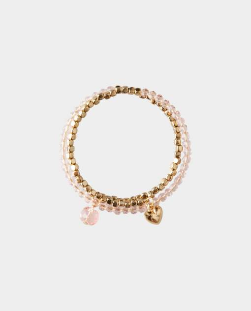 Розовый браслет Gulliver цв. розовый
