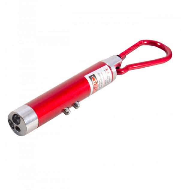 Брелок - фонарик унисекс 00111623 красный