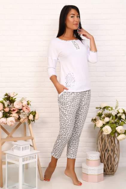 Домашний костюм женский Миллена Шарм 20003 белый 50