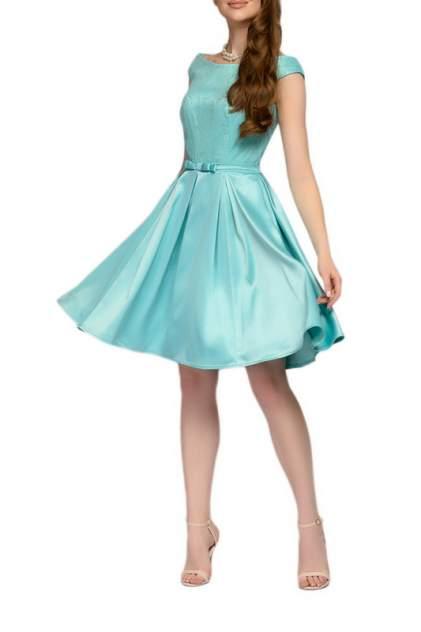 Вечернее платье женское D&M by 1001DRESS 0112001-01942MN голубое XS