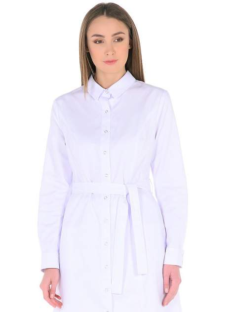 Халат медицинский женский Med Fashion Lab 03-704-09-023 белый 54-176