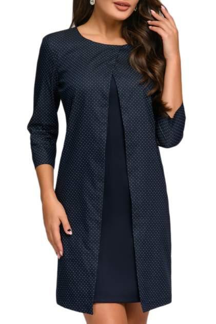 Платье женское D&M by 1001DRESS DM01038DT синее XL