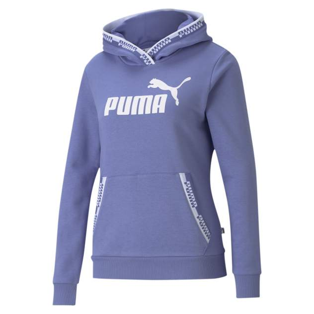 Толстовка PUMA Amplified Hoodie Tr, голубой