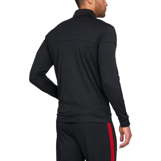 Свитшот мужской Under Armour Sportstyle Pique JKT черный 3XLT