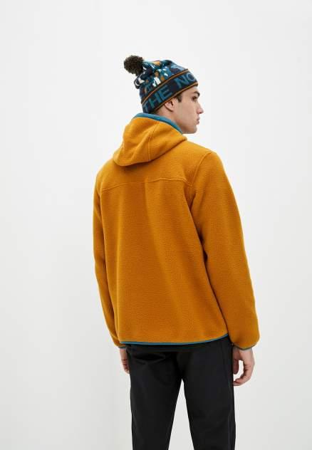 Свитшот мужской The North Face M CARBONDALE 1/4 SNAP оранжевый XXL